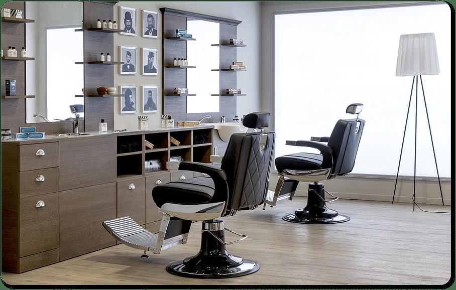 Mobilier complet salon de coiffure professionnel